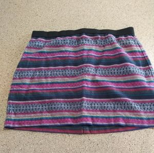 American Eagle Outfitters Skirt pink aztec tribal